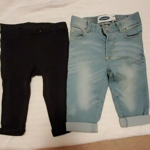 Old Navy pants 6-12 months